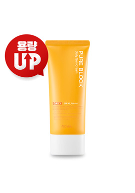 Apieu (18.R) pure block natural daily sun cream (large capacity)(請同規格6入為單位下單)