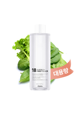 Apieu Slightly acidic 18 first toner (large capacity)(請同規格6入為單位下單)