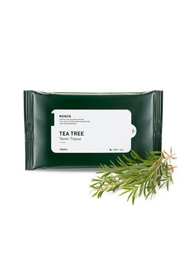 Apieu NONCO TEA Tree Toner Tissue(請同規格20入為單位下單)