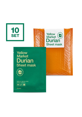 Apieu Yellow Market Durian Sheet Mask Set (10 bundles)(請同規格20入為單位下單)