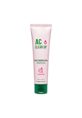 Etude House AC Cleanup Pink Powder Mask 100ML