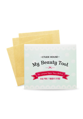 Etude House My Beauty tool Bounce Fact Oil Paper (Refill)