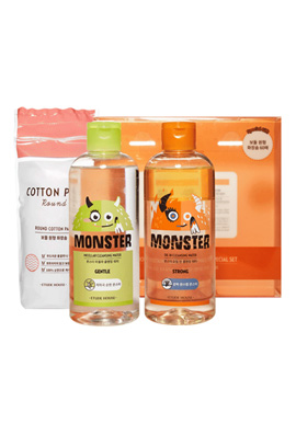 Etude House Monster Cleansing Water Duo Special Set