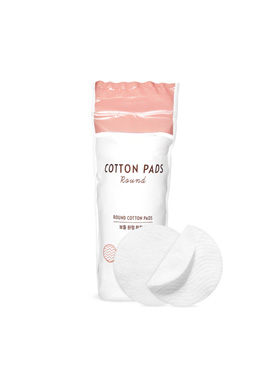 Etude House Boulder circular makeup cotton