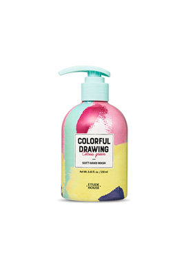 Etude House Colorful Drawing Soft Hand Wash (Colorful Drawing) 250ml