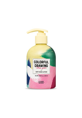 Etude House Colorful Drawing Soft Hand Lotion (Colorful Drawing) 250ml