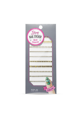 Etude House Play Nail Sticker No. 1 Golden Stud
