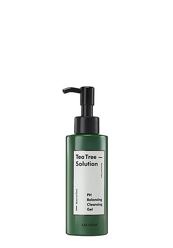 ARITAUM茶樹配方平衡潔顏凝膠Teatree Solution PH Cleansing Gel