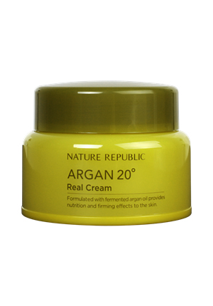 Nature Republic自然樂園ARGAN 20°補水霜 堅果乳霜 50ML