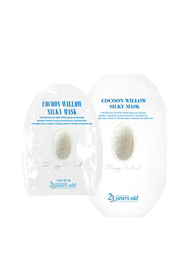 23 years old Cocoon Willow Silky Mask43g*4ea
