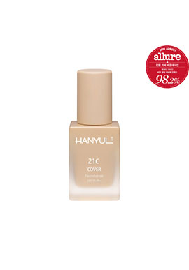 HANYUL Cover Foundation SPF 15 PA + 30ml