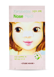 Etude House Green Tea Nose Pack AD - 1入