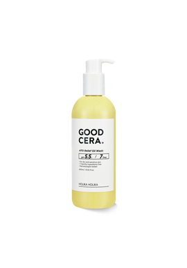 HolikaHolika Good Cera Ato Relief Oil Wash 保濕洗面乳+沐浴乳