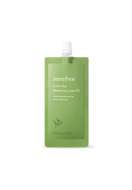 Innisfree Green Tea Balancing Lotion EX 7DAYS 10mL