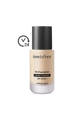 INNISFREE MY FOUNDATION 粉底液[ALL DAY LONG WEAR] 30ml/SPF25 PA++
