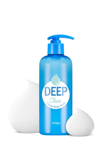 APIEU Deep Clean CreamBody Wash 400g - 8入