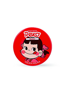 2019Holika x Peko 不二家牛奶妹聯名Melty jelly blusher 6g