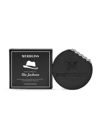 MERBLISS NEW竹炭天然潔顏皂 natural soap from bamboo charcoal Jackson (100g)